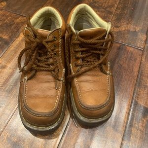 Dr. Martens Kyle Moc Toe Boots Women's Sz 9 Mens 7